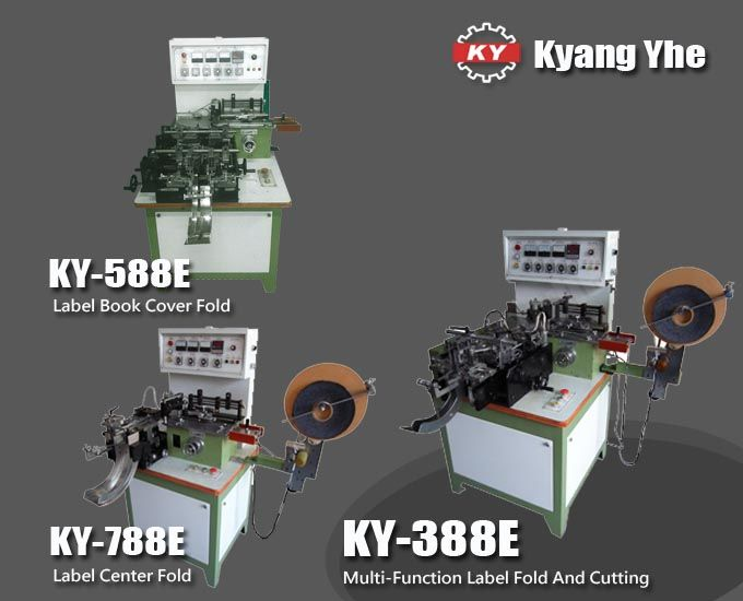 Label Folding And Cutting Machine